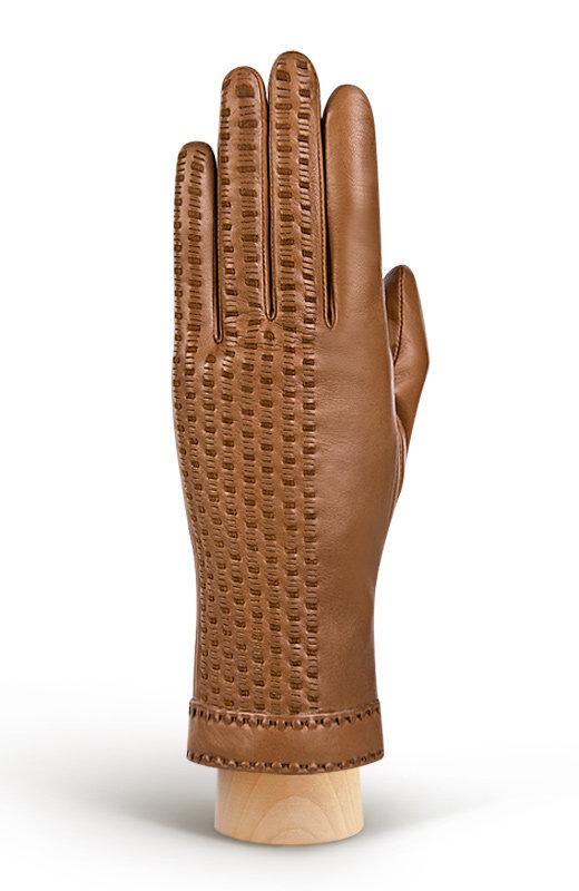 Женские перчатки с плетеной кожей ELEGANZZA (Размер: 6,5)