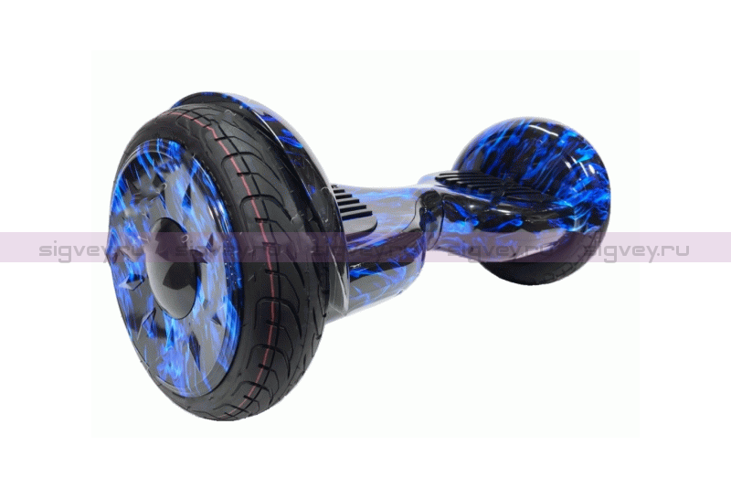 Гироскутер Smart Balance PRO PREMIUM 10.5 V2 Синий огонь
