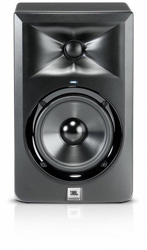JBL LSR305 2-х полосн. активн. студийный монитор 5` с магнитным экраном, 43 Гц-24 кГц, 41 Вт НЧ + 41 Вт ВЧ