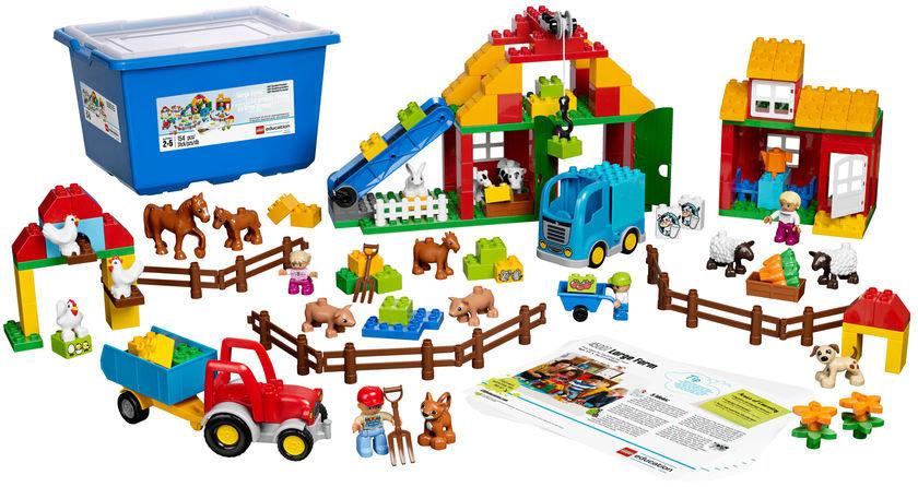 Классический конструктор Lego Education PreSchool Большая ферма 45007 (Multicolor)