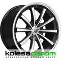 Lexani CVX55 10.5x20/5x120 D74.1 ET35 Flat_Black_Machined_Chrome_Lip - фото 1
