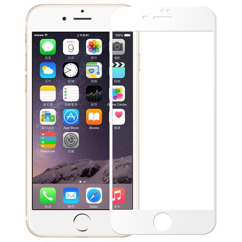 Защитное стекло Китай Защитное стекло 5D Tempered Glass для iPhone 6 / 6S (белый)