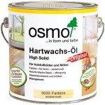 Масло с твердым воском для паркета и мебели Osmo (Осмо) Hartwachs-Ol Original 3032 бесцветное шелковисто-матовое 0,125 л (на 15 кв.м в 1 слой)