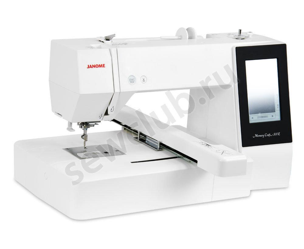Вышивальная машина Janome MC 500E