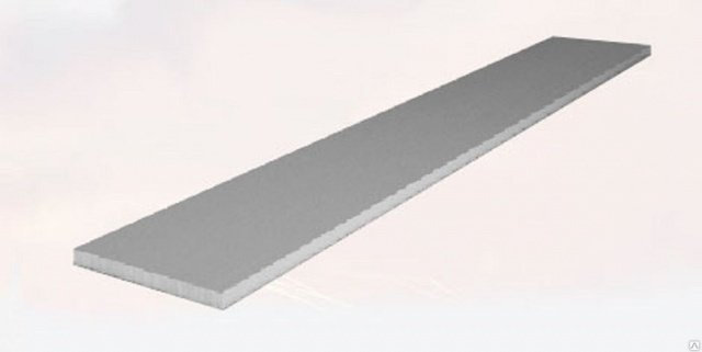 Россия Алюминиевая полоса (шина) 10х50 (3 метра)
