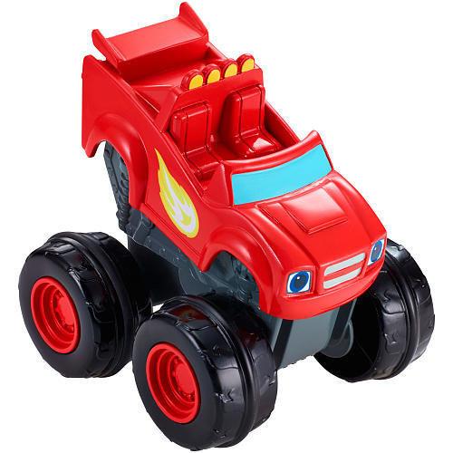 Машинка Mattel Вспыш и чудо-машинки Slam and Go