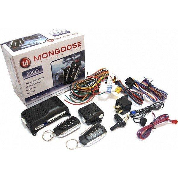 Автосигнализация Mongoose 900ES line3 + пейджер Mongoose PS 2070