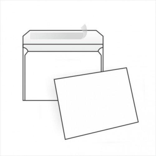 Конверт белый, С6 (114*162мм), стрип-лента, клапан прямой. Конверты - в упаковке 1000 шт.