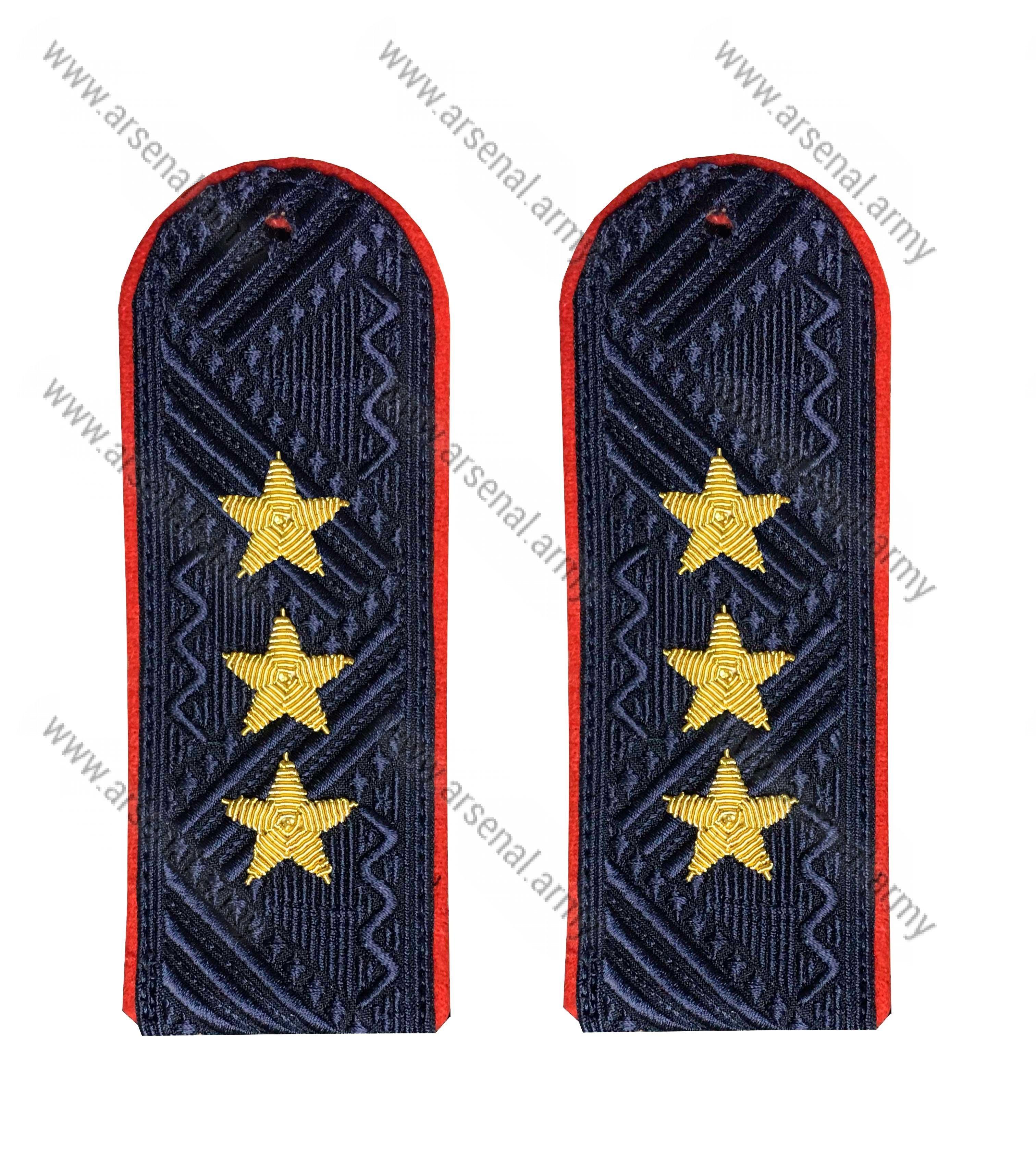 Погоны полиции на китель Генерал-полковник