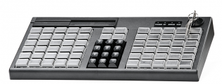 Программируемая POS-клавиатура АТОЛ KB-76-KU черная