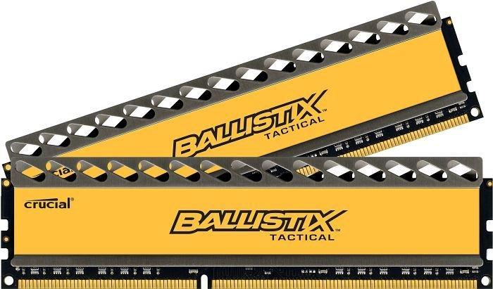 Модуль памяти Crucial Ballistix Tactical DDR3 DIMM 1866MHz PC3-14900 - 8Gb KIT (2x4Gb) BLT2CP4G3D1869DT1TX0CEU