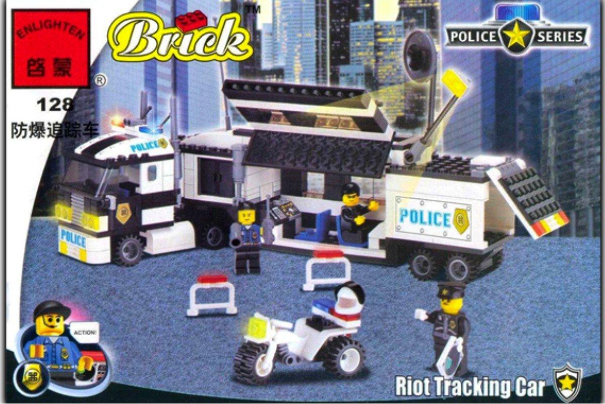 инструкция лего дорожная полиция