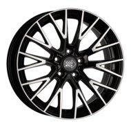 Диски R18 5x120 8J ET42 D72,6 1000 Miglia MM1009 Gloss Black Polished - фото 1