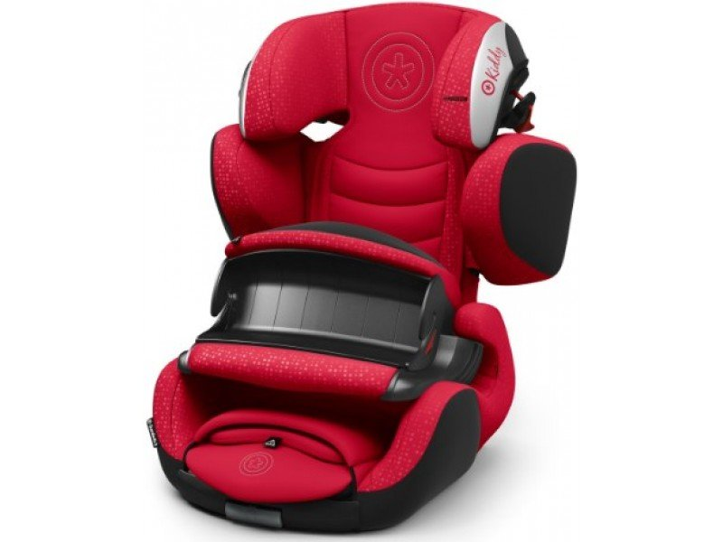 Автокресло Kiddy Guardianfix 3 c isofix Chili Red