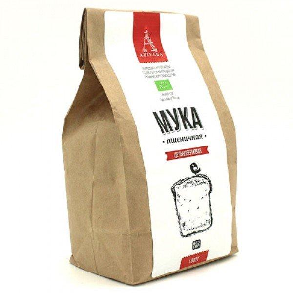 Аривера/ Мука пшеничная цельнозерновая, 1 кг