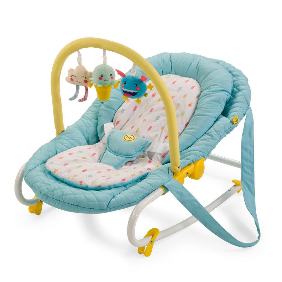 Шезлонг Happy Baby Nesty, цвет: Blue