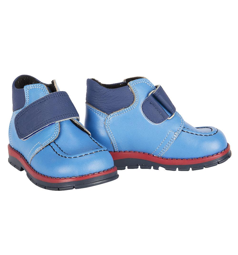 Ботинки Таши Орто цвет: голубой