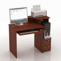 Компьютерный стол КС-10 Колибри Яблоня «Локарно»