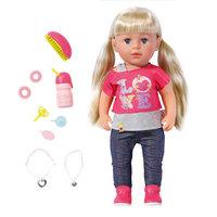 Интерактивная кукла Zapf Creation Baby born 820-704 Бэби Борн Кукла Сестричка, 43 см
