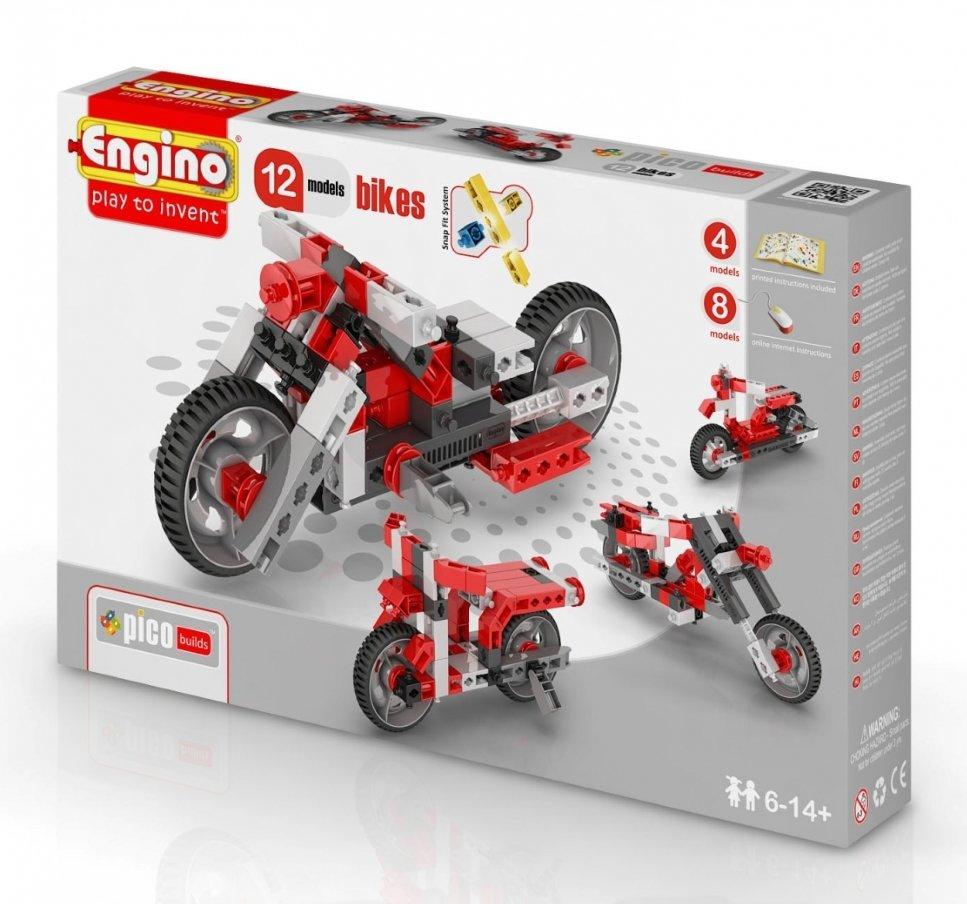 Конструктор Inventor Мотоциклы - 12 моделей Engino PB 32