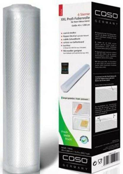Рулон для вакуумной упаковки Caso VC 40*1000