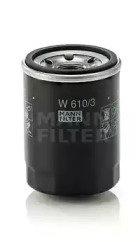 Масляный фильтр Mann-Filter W610/3