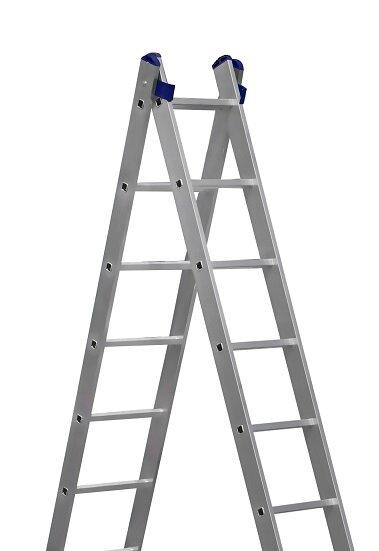 Лестница алюминиевая 2* 8 (5208) Алюмет
