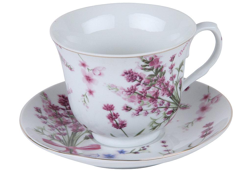 Чайная пара, чашка 270 мл Rosenberg RPO-255114