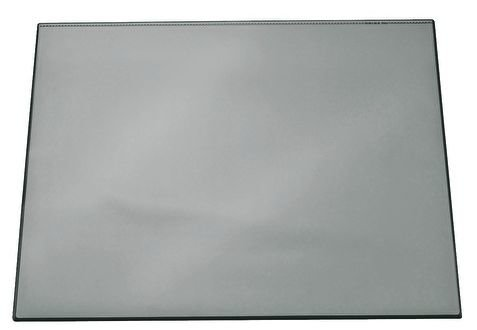 Коврик-подкладка настольный для письма, 52х65 см (серый)