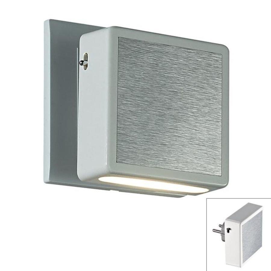 Светильник-ночник (в розетку) светодиодный с выключателем Novotech 357319 1*1.2W белый