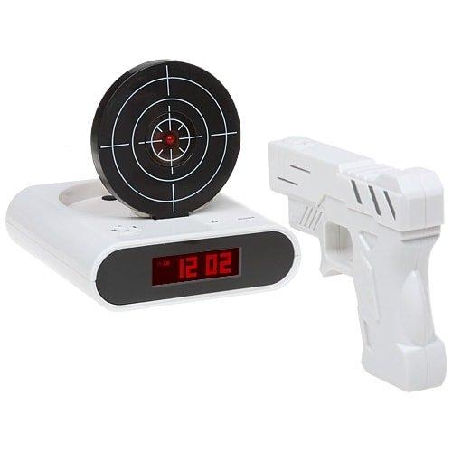 Будильник с мишенью (Gun Alarm Clock)
