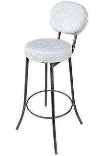 Мягкий барный стул (белый мрамор) 333751