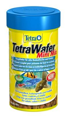 """Корм для всех донных рыб """"Tetra Wafer Mix"""" в виде меленьких чипсов, 100 мл"""