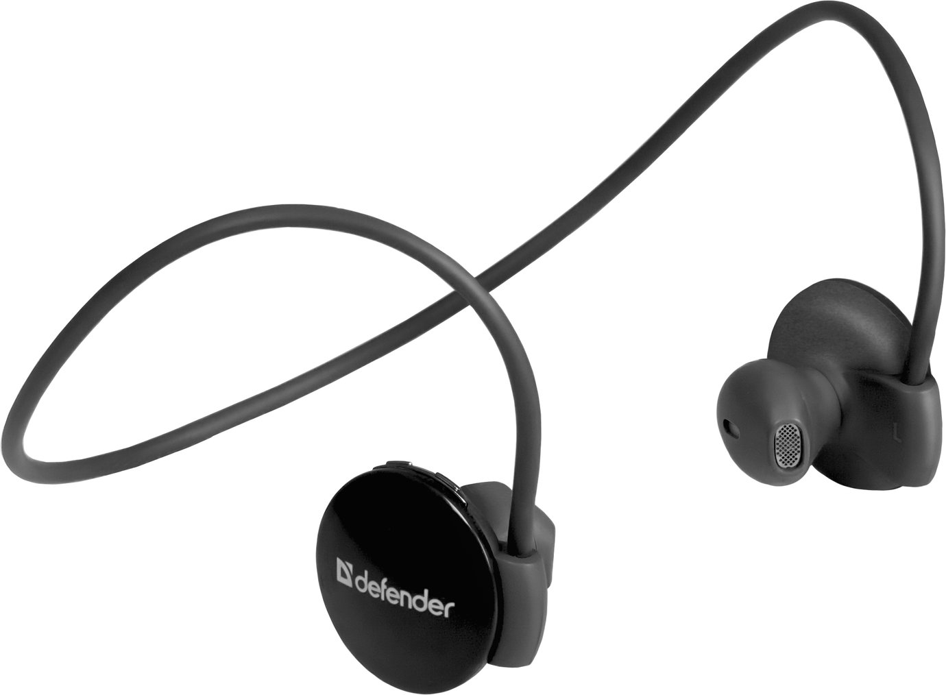 Гарнитура DEFENDER FreeMotion B611 Bluetooth, чёрная. Вкладыши. Разъём: micro-USB. Диапазон частот: 20-20000 Гц. Клавиши управления на наушниках. Встроенный микрофон с шумоподавлением. Радиус действия до 10 м. (1/40) Defender 63611