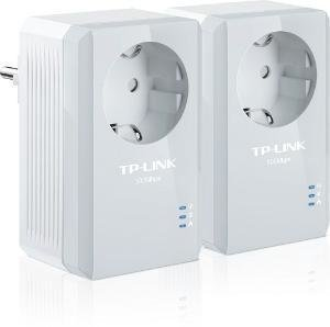 Адаптер PowerLine TP-LINK TL-PA4010PKIT AV500 Nano Adapter Kit (2-адаптера, 1UTP 10/100Mbps, 500Mbps)