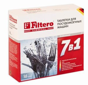 Таблетки для ПММ Filtero 701 16шт