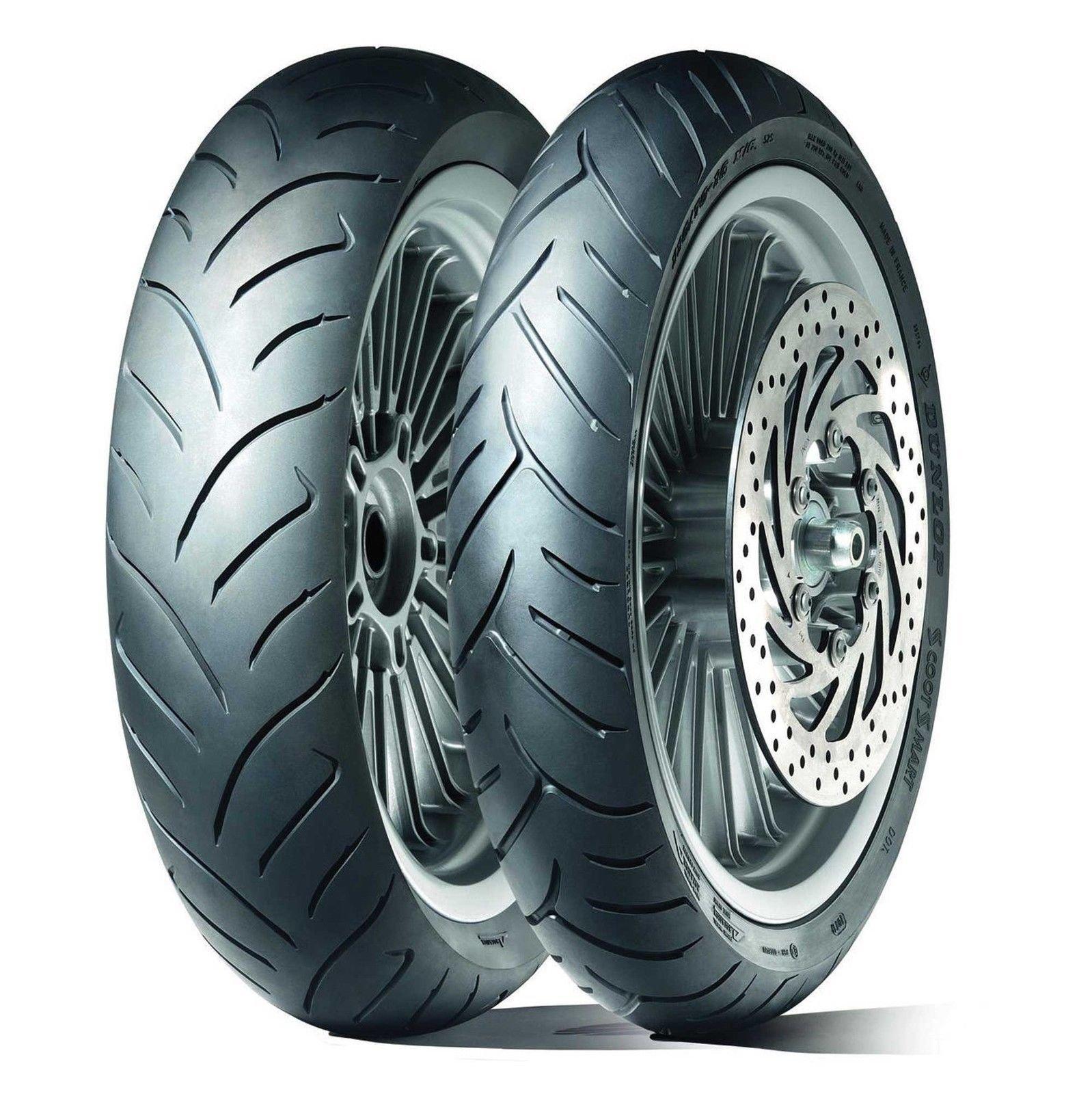 Шина для мотоцикла Dunlop ScootSmart 110/90 R13 55P TL Передняя (Front) (Артикул: 303995)