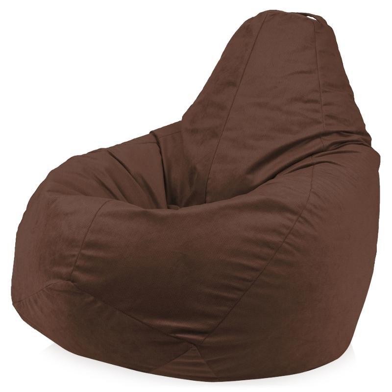 Кресло мешок «Vellut-Brown» XL