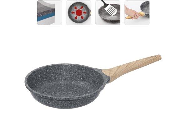 Сковорода NADOBA MINERALICA с антипригарным покрытием, 20 см