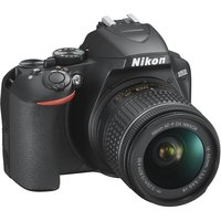 Цифровой зеркальный фотоаппарат NIKON D3500 Kit 18-55 VR AF-P Black
