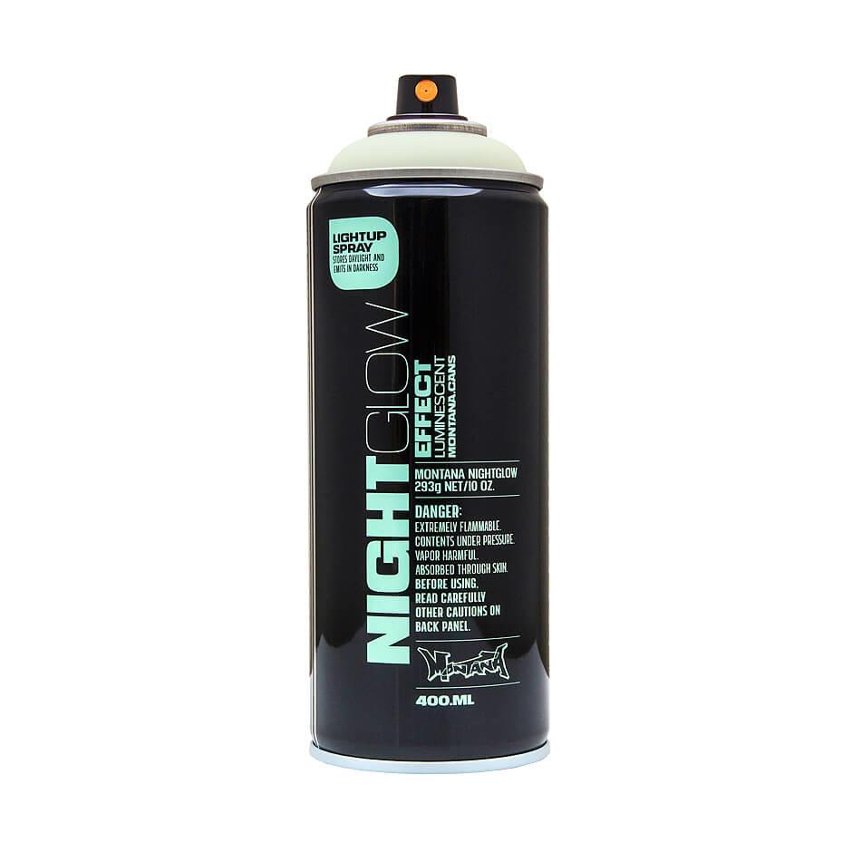 Краски для граффити L&G Vertriebs Краска для граффити MONTANA фосфоресцентная, аэрозоль 400мл