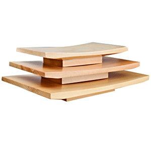 Блюдо для суши 24x15x3 см WEST HONEST 3021434