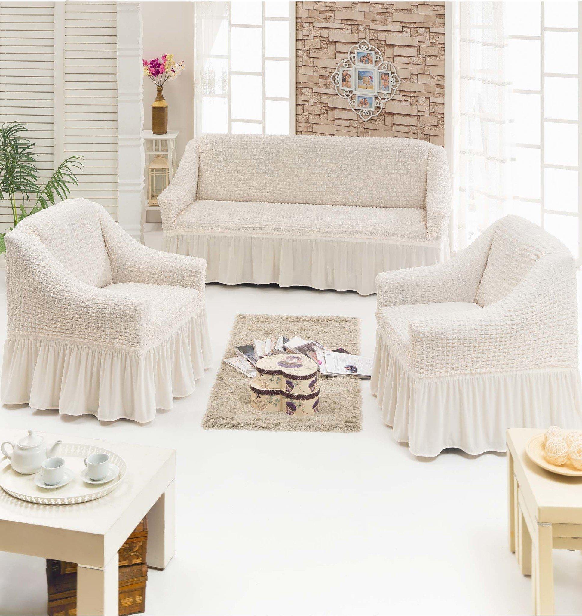 В спальню: Чехол для мягкой мебели из 3-х предметов : MTR0106