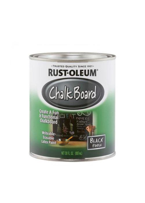 Rust-oleum Краска с эффектом грифельной (школьной) доски, черная