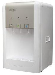 Кулер для воды Vatten D17WK silver настольный, с нагревом и охлаждением