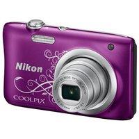 Цифровой фотоаппарат Nikon CoolPix A100 фиолетовый/рисунок