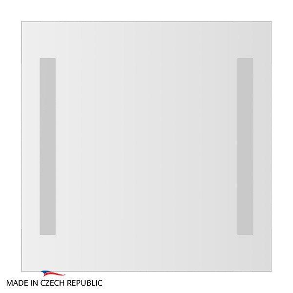 Зеркало со встроенными светильниками ELLUX STRIPE LED (55х55 см) STR-A2 9102