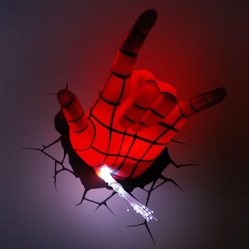 Лампа-ночник настенная Человек-Паук Spider-Man
