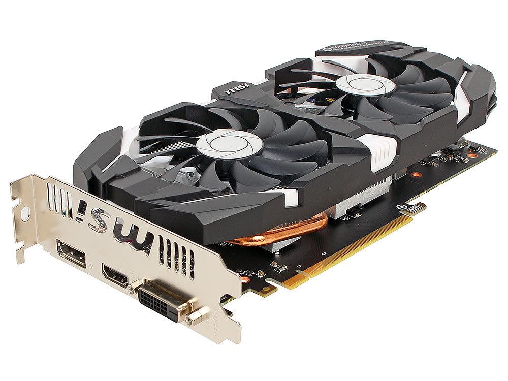 Видеокарта 3Gb (PCI-E) MSI GeForce GTX 1060 3GT OC (GTX1060, GDDR5, 192bit, HDCP, DVI, HDMI, 3*DP, Retail)