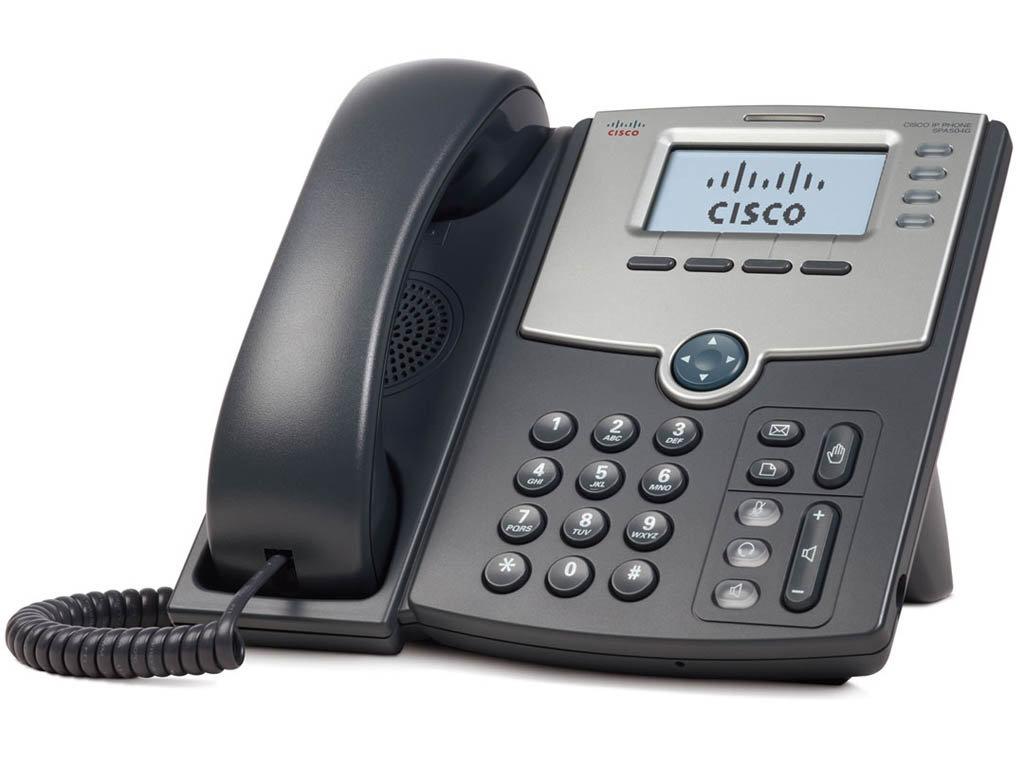 IP Телефон Cisco SPA504G